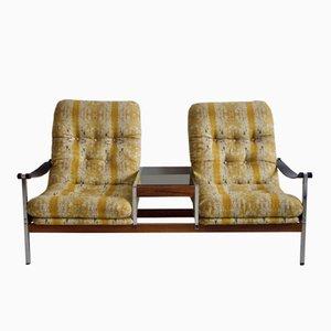 Cronette Sofa mit Beistelltisch von Dahléns Dalum, 1970er