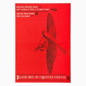 Those Magnificent Men in Their Flying Machines Filmplakat von Karel Vaca, 1966