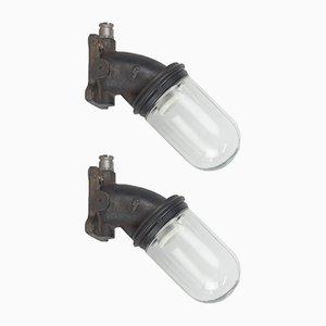Lámparas de pared vintage de Siemens. Juego de 2