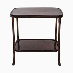 Antique Art Nouveau Bentwood Side Table from Jacob & Josef Kohn