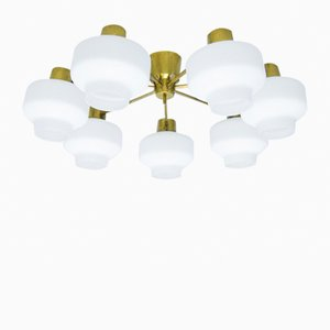 Mid-Century Ceiling Lamp by Hans Bergström for Asea