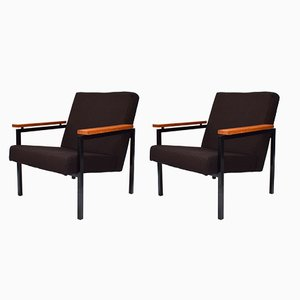 Model 30 Lounge Chairs par Gijs Van Der Sluis, 1960s, Set de 2