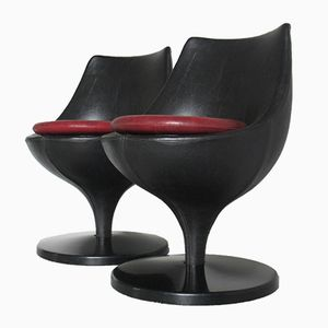 Polaris Chairs by Pierre Guariche for Meurop, 1960s, Set of 2