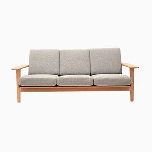 Mid-Century Oak GE290 Sofa by Hans J. Wegner for Getama