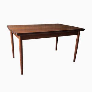 Vintage Scadinavian Teak Extendable Dining Table