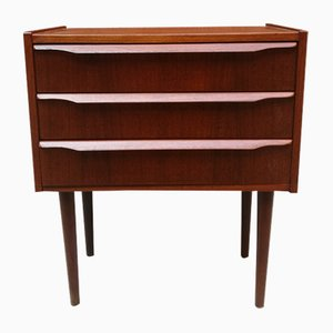 Danish Teak Nighstand, 1960s