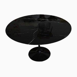 Tables By Eero Saarinen At Pamono - Black marble saarinen table