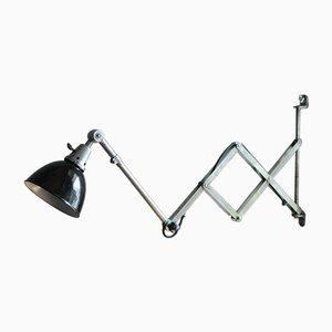 Lámpara de acordeón vintage de Curt Fischer para Midgard
