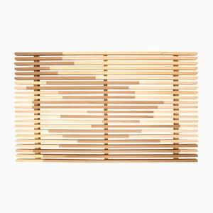 Bandeja Sami_Wave grande de ciprés Hinoki de Marta Laudani para Hands On Design