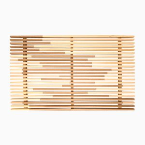 Sami_Wave L Tray in Hinoki Cypress by Marta Laudani for Hands On Design