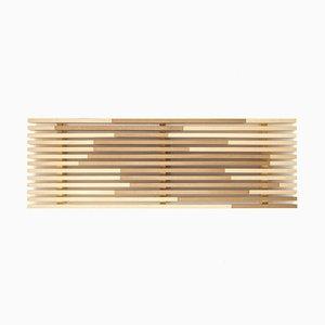 Plateau Sami_Wave M en Cyprès Hinoki par Marta Laudani pour Hands On Design