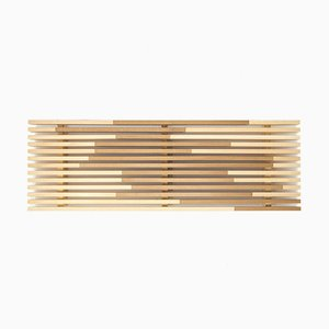Sami_Wave M Tray in Hinoki Cypress by Marta Laudani for Hands On Design
