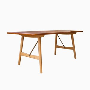 Table de Salle à Manger 158 Hunting Vintage par Børge Mogensen pour Søborg Møbelfabrik