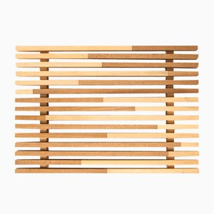 Sami_Wave S Tray in Hinoki Cypress by Marta Laudani for Hands On Design