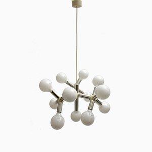 Atomic Kronleuchter von Robert Haussmann für Swiss Lamp International, 1960er