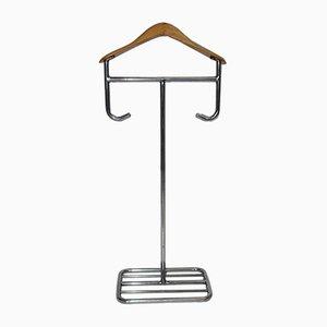 Galán de noche Bauhaus de acero tubular, años 30