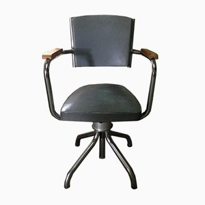 Chaise Pivotante Industrielle Vintage