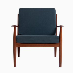 Dänische vintage Modell 118 Sessel von Grete Jalk für France & Søn