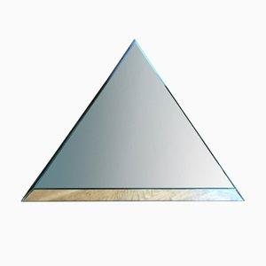Weißer vintage Spiegel von Nanda Vigo