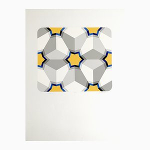 Serigrafia Hexagon II di marko Spalatin, 1984