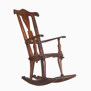 Rocking Chair Antique Sécessioniste