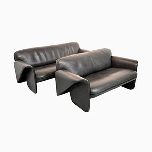 Vintage Swiss DS 125 Sofas by Gerd Lange for de Sede, 1978, Set of 2