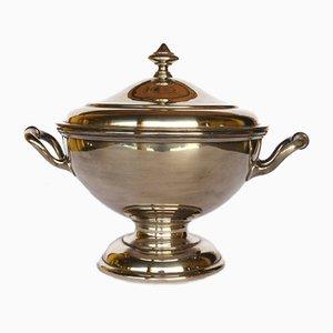 Zuppiera vintage placcata in argento di Arthur Krupp