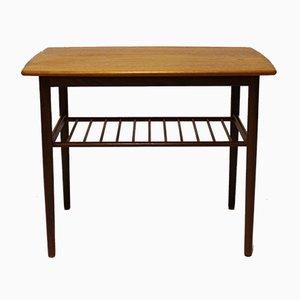 Petite Table d'Appoint en Teck, Danemark, 1960s