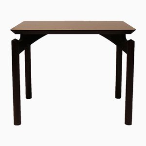 Tavolino in mogano di Finn Juhl per Poul Jeppesens, anni '60