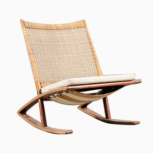 Mid-Century Rocking Chair by Fredrik A. Kayser