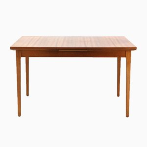 Walnut Extendable Dining Table from Lübke, 1960s