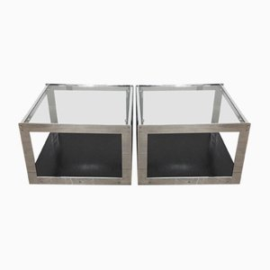 Mid-Century Side Tables par Richard Young pour Merrow Associates, 1970s, Set de 2