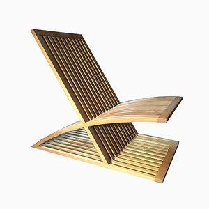Triclinia Lounge Chair by Masao Noguchi for Meccani Arredamenti, 1988