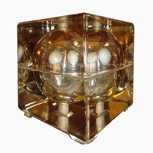 Lampada da tavolo Cubosfera di Alessandro Mendini per Fidenza Vetraria, 1968