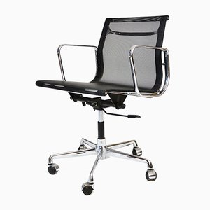 Mid-Century EA117 Aluminum Swivel Chair by Charles & Ray Eames for ICF
