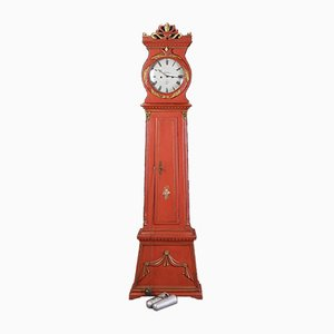 Antique Grandfather Clock by Mogens Peter Westh for Bornholm, 1875