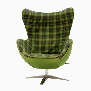 Mid-Century Swivel Lounge Chair, 1990s