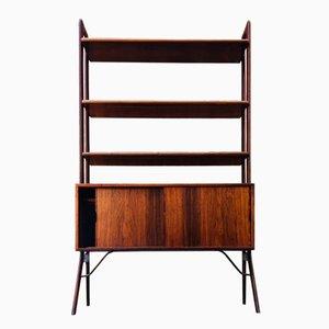 Rosewood & Teak Bookshelf Unit by Kurt Østervig for K. P. Møbler, 1960s