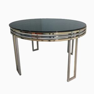 Circular Dining Table by Romeo Rega, 1970s