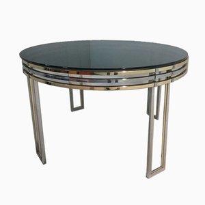 Table de Salle à Manger Circulaire par Romeo Rega, 1970s