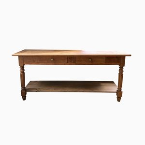 Antique Oak Console