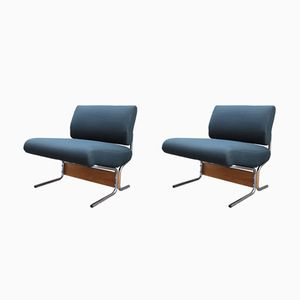 Model Caracas Chairs by Pierre Guariche for Meurop, 1960s, Set of 2