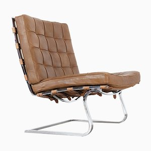Vintage Tugendhat Lounge Chair MR 70 by Ludwig Mies van der Rohe for Knoll International