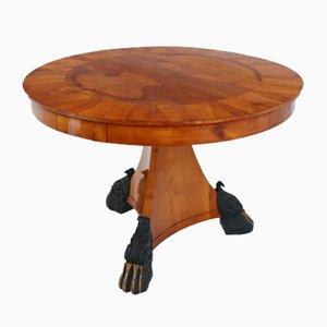 Tavolo impiallacciato in ciliegio, inizio XIX secolo
