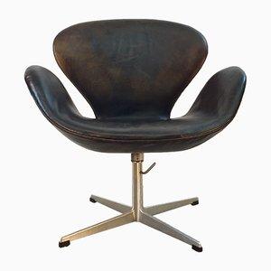 Skandinavischer Swan Chair von Arne Jacobsen für Fritz Hansen, 1960er
