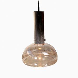 Grande Lampe à Suspension de Glashütte Limburg, 1960s