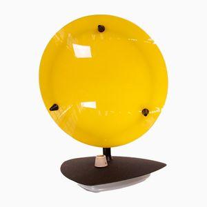 Zweifarbige Plexiglas Tischlampe, 1950er