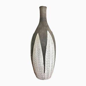 Paprika Keramik Vase von Anna-Lisa Thomson für Upsala Ekeby, 1950er