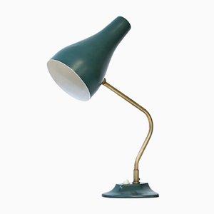 Lampada da tavolo in ottone e metallo di ASEA, anni '50