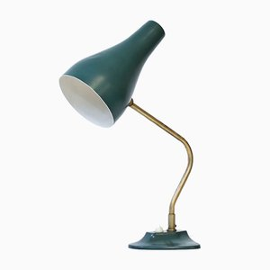Lámpara de mesa de latón y metal de ASEA, años 50
